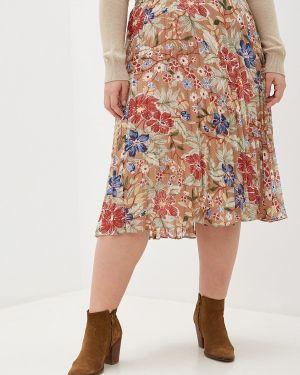 Плиссированная юбка бежевый Blagof