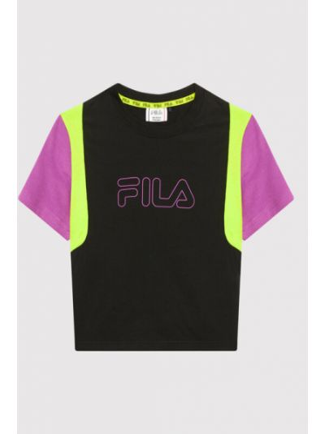 T-shirt - czarna Fila