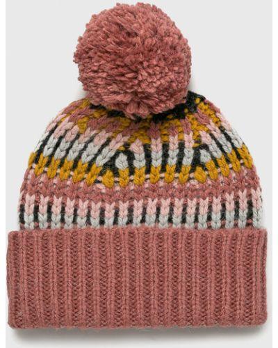 Зимняя шапка с отворотом с помпоном Review