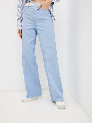 Широкие джинсы - голубые S.oliver