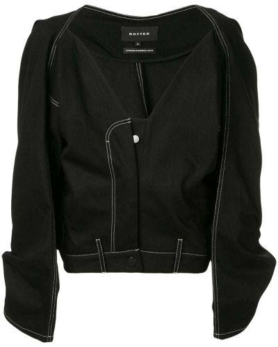 Черная куртка Botter