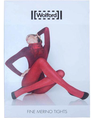 Колготки серые шерстяные Wolford