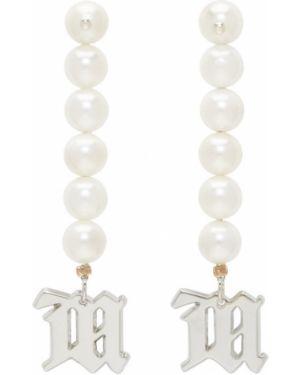 Kolczyki ze sztyftem kolczyki pierścionki z perłami Misbhv