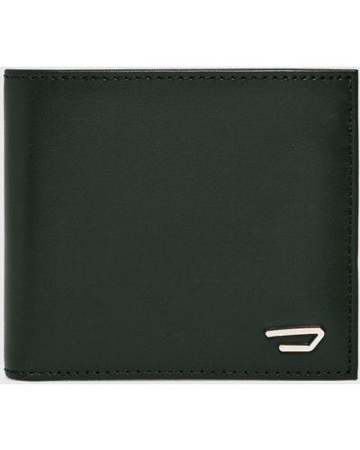 Черный кошелек кожаный Diesel