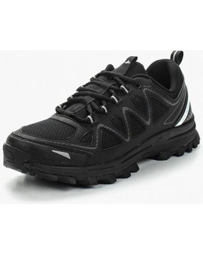 Кожаные ботинки треккинговые черные Anta