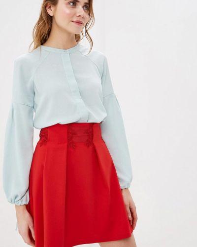 Блузка с длинным рукавом зеленый весенний Sela