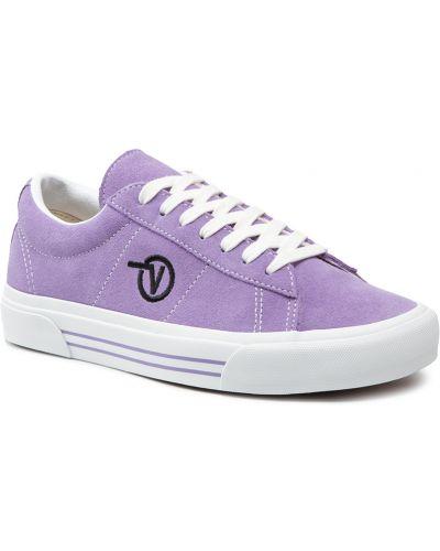 Tenisówki - fioletowe Vans