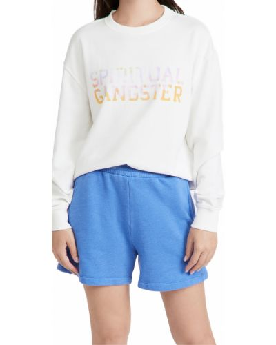 Хлопковый пуловер Spiritual Gangster