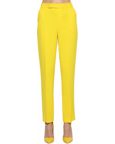 Укороченные палаццо - желтые Ralph Lauren Collection