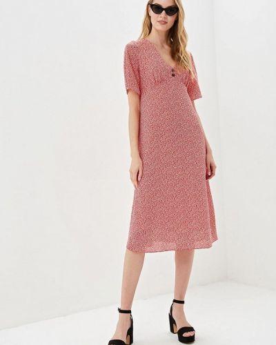 Платье прямое красный Nastasia Sabio
