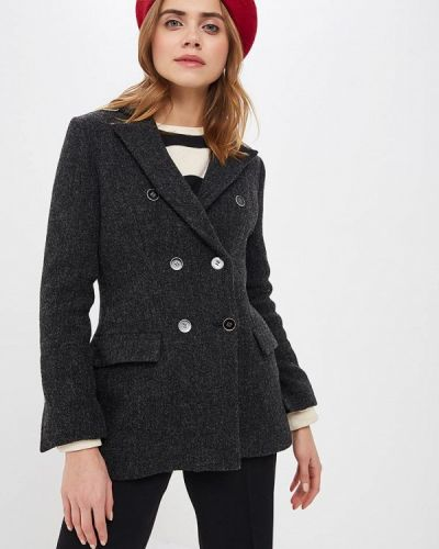Пиджак серый форма