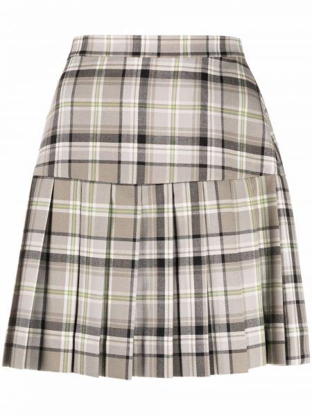 Бежевая шерстяная юбка Vivienne Westwood