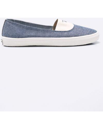 Синие слипоны Gant