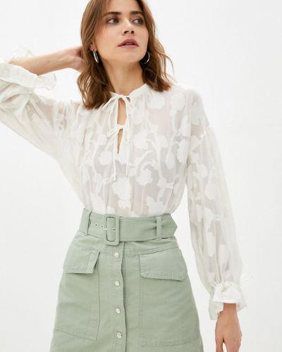 Белая блузка с длинными рукавами B.young