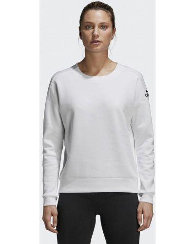 Белый свитшот Adidas