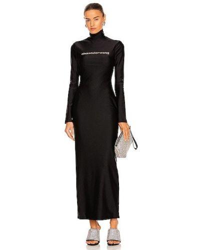 Вечернее платье классическое - черное Alexander Wang