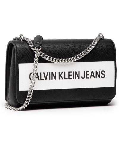 Czarna torebka wizytowa Calvin Klein Jeans