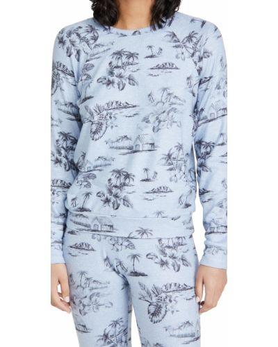 Мягкий синий пуловер с рукавом реглан Pj Salvage