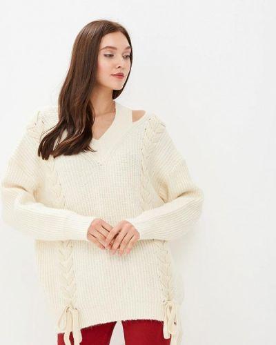 Белый пуловер Zeza