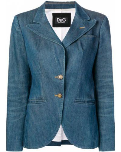 Пиджак джинсовый винтажный Dolce & Gabbana Vintage