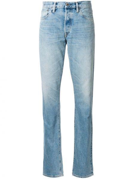 Niebieskie jeansy bawełniane vintage Simon Miller