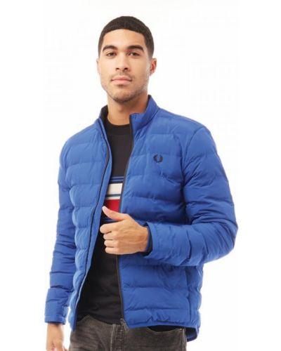 Утепленная куртка - синяя Fred Perry