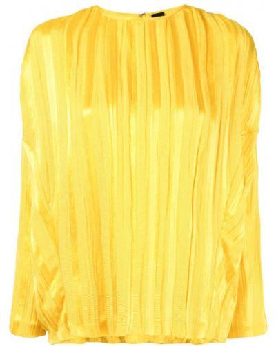 Блузка с длинным рукавом прямая спущенная Zero + Maria Cornejo