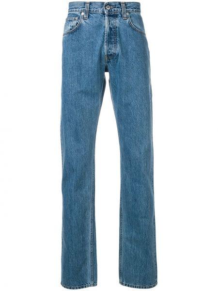 Прямые джинсы с карманами классические Helmut Lang