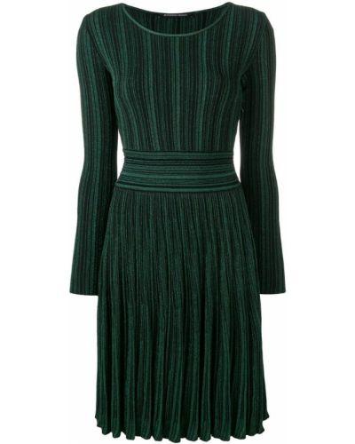 Платье с вырезом с длинными рукавами Antonino Valenti