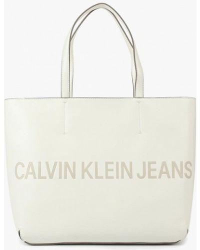 Белые джинсы Calvin Klein Jeans