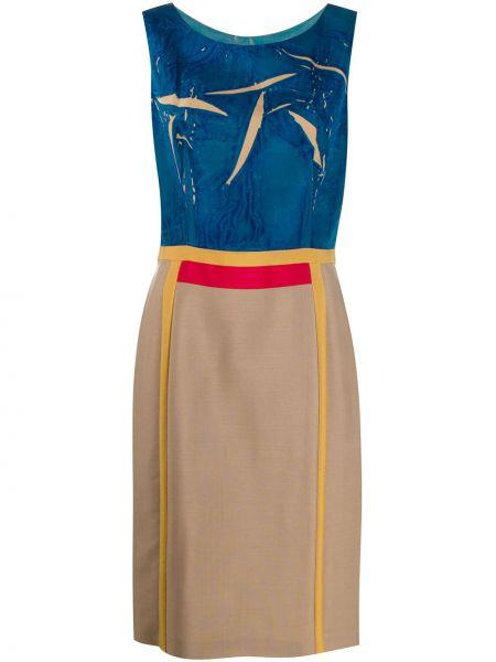 Платье винтажная с абстрактным принтом Prada Pre-owned