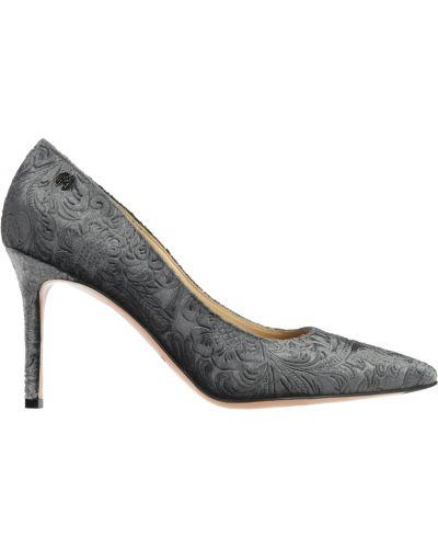 Туфли на каблуке кожаные на каблуке Nando Muzi