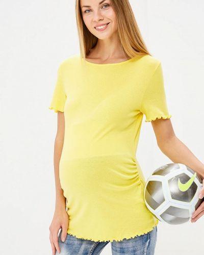 Желтое поло турецкое Dorothy Perkins Maternity