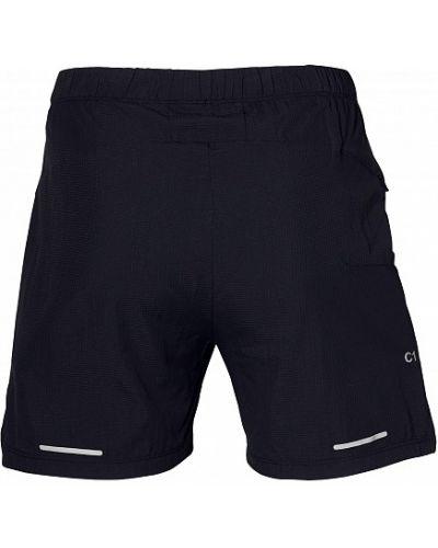 Короткие шорты черные спортивные Asics