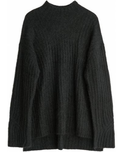 Czarny sweter oversize By Malene Birger