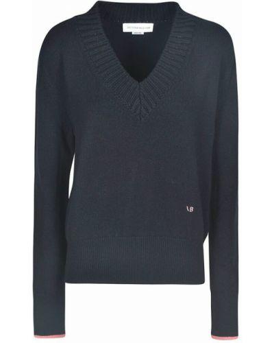 Sweter - niebieski Victoria Beckham