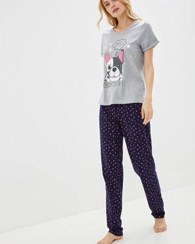 Пижама синий пижамный Deseo