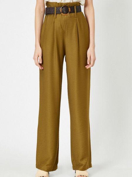 Повседневные брюки хаки Koton