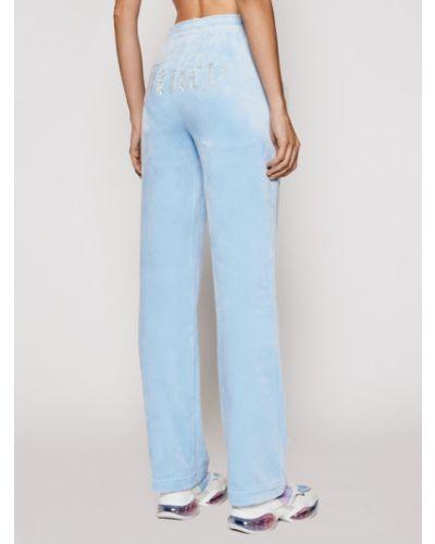 Niebieskie spodnie dresowe Juicy Couture
