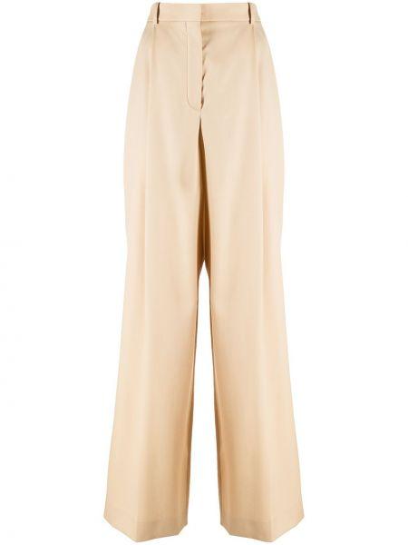 Свободные брюки с карманами свободного кроя Nina Ricci
