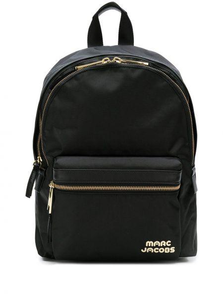 Skórzany plecak czarny torba na plecak Marc Jacobs