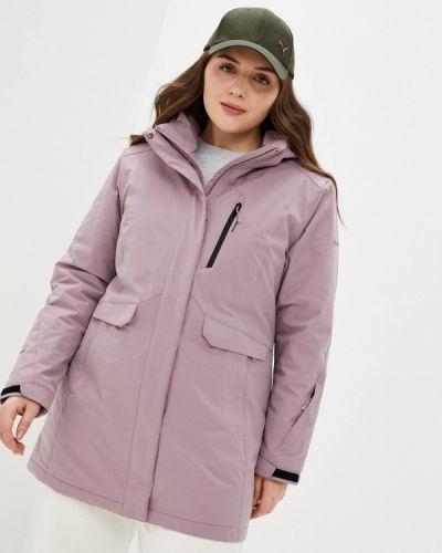 Утепленная розовая куртка High Experience