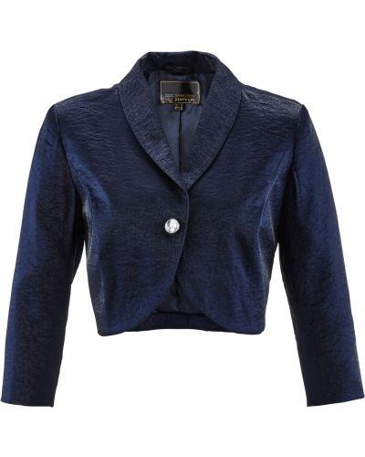 Модное синее с рукавами болеро Bonprix