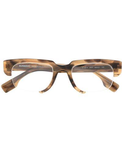 Beżowy oprawka do okularów plac przeoczenie Burberry Eyewear