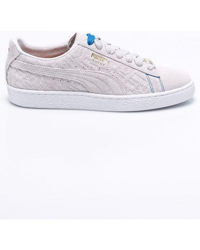 Серые кроссовки Puma