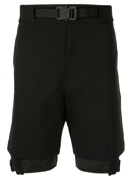 Короткие шорты с манжетами черные 1017 Alyx 9sm