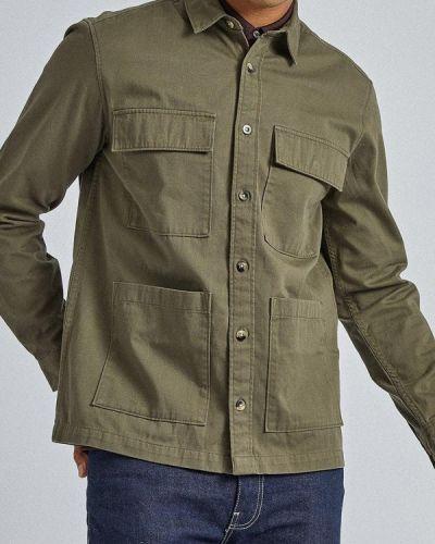 Рубашка с длинным рукавом индийский зеленый Burton Menswear London