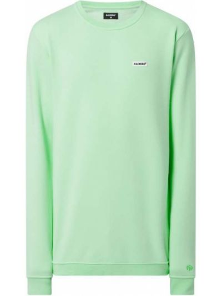 Prążkowana zielona bluza bawełniana Raizzed