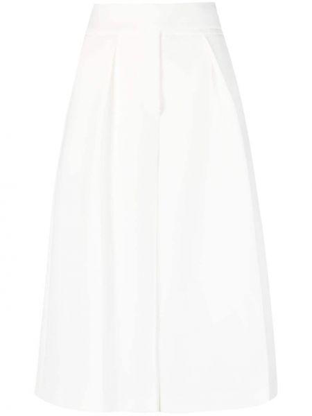 Белые шорты с карманами свободного кроя Alexandre Vauthier