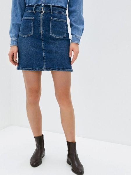 Джинсовое платье синее весеннее Pepe Jeans